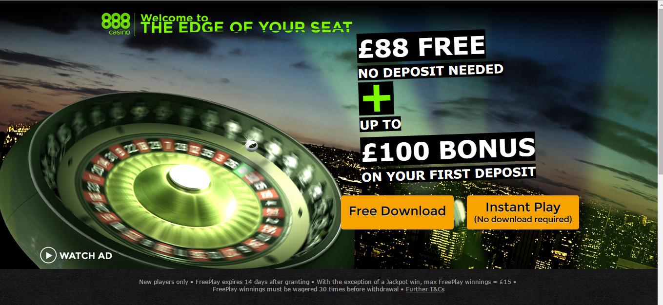 Free blackjack 888